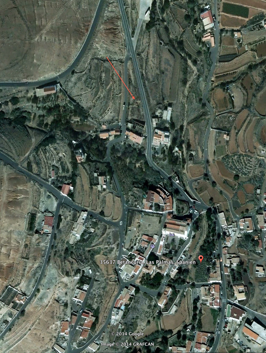 For sale! Plot with a project for a 4 **** Hotel in Betancuria