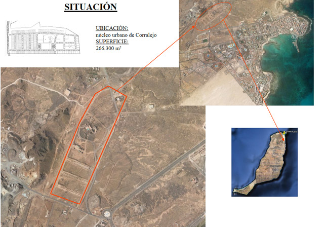 For sale! Plot for commercial use at Corralejo, Fuerteventura