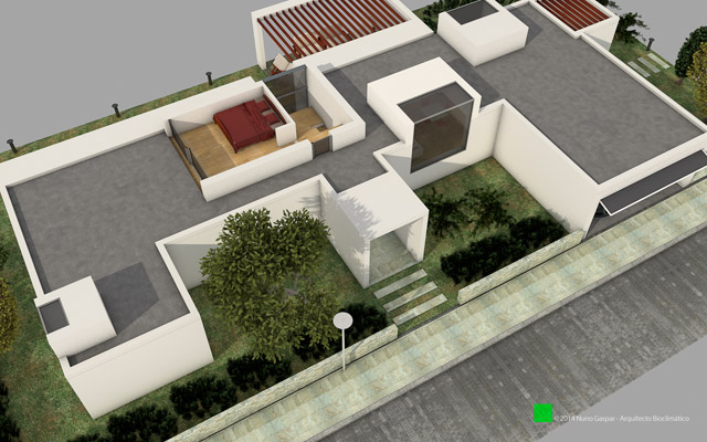 In project! Luxurious villas with pool