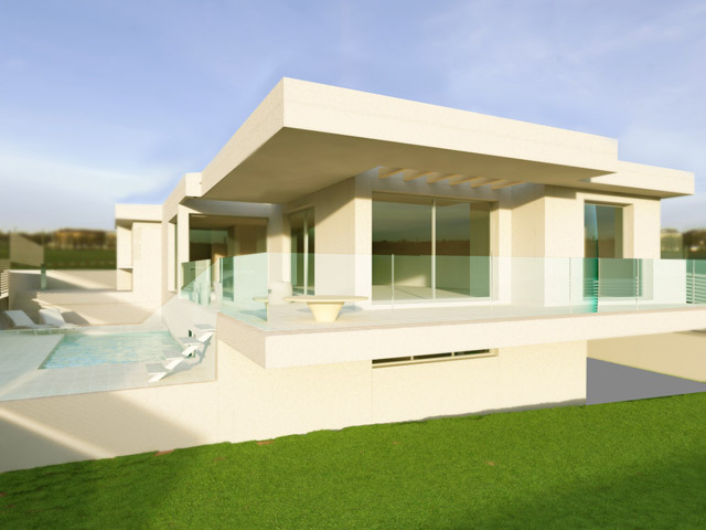For sale modern design Villa with amazing seaview in Corralejo