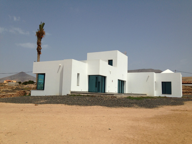 Modern new built villa with seaview in Tindaya for sale