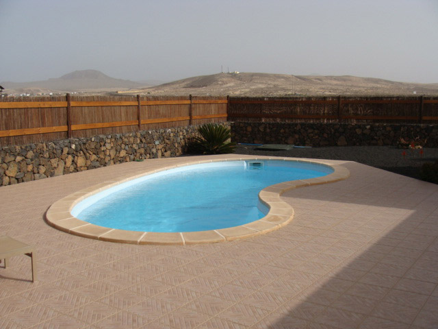 Nice Villa with panorama view & pool for sale in Lajares on Fuerteventura