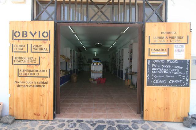 We bail a comercial store in Lajares Fuerteventura