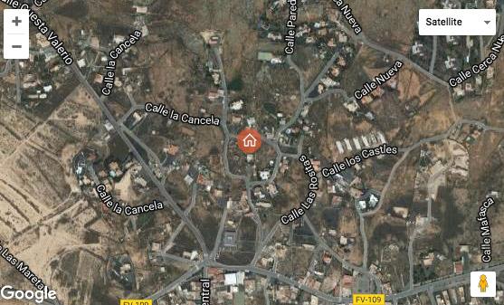 Verkaufe urbanes Bauland mit guter Lage in Lajares