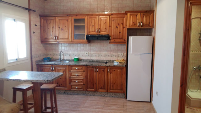 We rent an apartment of 50 sqm with 1 bedroom in Puerto del Rosario