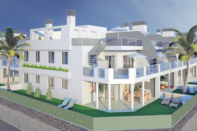 In the construction phase! Semiramis Plus, Luxury apartments in Corralejo!   Book your apartment!