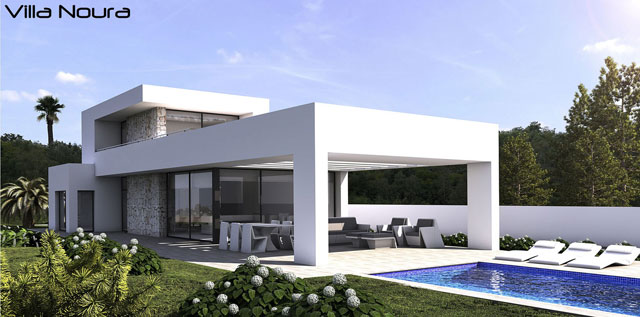 Villa Noura with pool pre constructed house