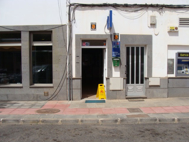 We transfer! A local type administration of Spanish Lottery in La Oliva Fuerteventura