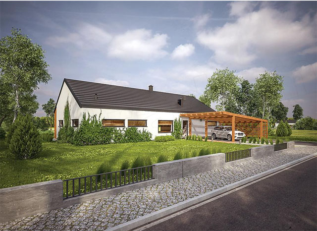 "Pre constructed house ""Villa Family Star ""  !The perfect symbiosis of luxury and nature!"