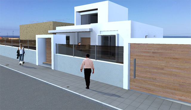For sale! Urban plots with seaview at Corralejo, Fuerteventura