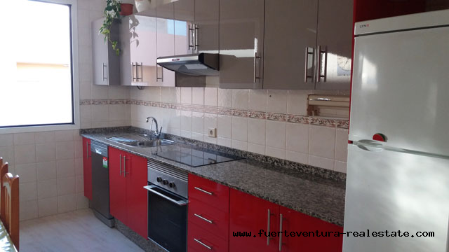 For sale! City apartment, recently renovated in the center of Puerto Del Rosario on Fuerteventura