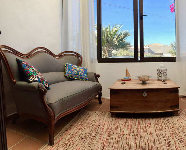 A beautiful villa with seaview and heated pool is sold in Villaverde on Fuerteventura