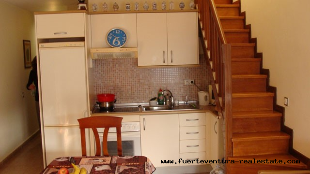 On sale! Cozy apartment with elevator and garage in Corralejo!
