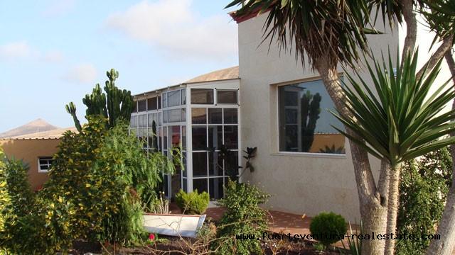 Se vende! Espaciosa Villa con vistas espectaculares, situada en Villaverde, Fuerteventura!