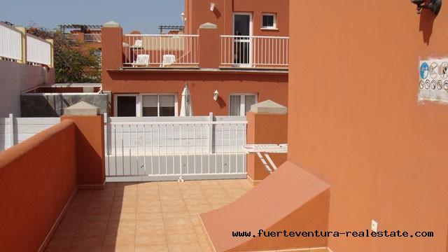 For sale! Terraced house in the complex Mirador de las Dunas in Corralejo on Fuerteventura!