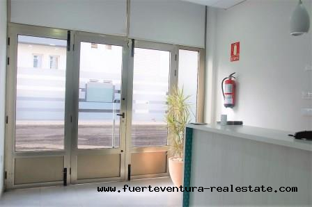 Commercial property in Corralejo is transfered