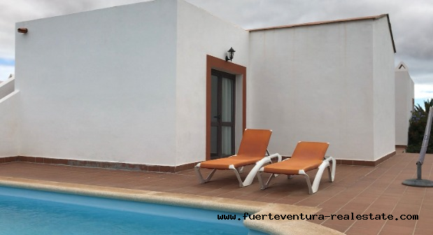 For sale! Wonderful new Villas  at the village of Villaverde at Fuerteventura!
