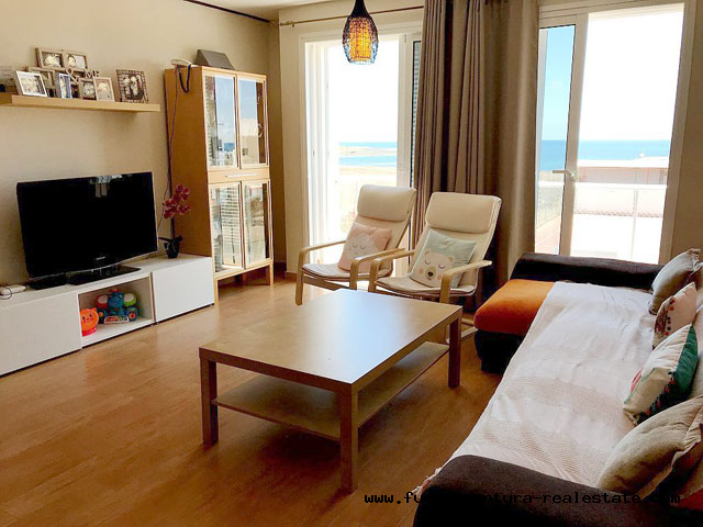 For Sale! Beautiful duplex apartment with sea views in Puerto Lajas on Fuerteventura