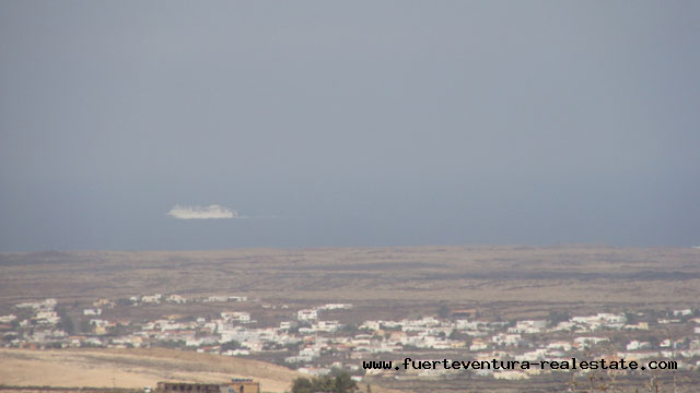 Nous vendons des terrains avec vue sur la mer à Villaverde à Fuerteventura
