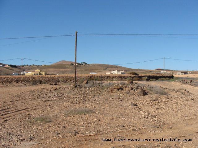 Im Verkauf! Grundstück mit Tollen Ausblick in La Asomada, Fuerteventura