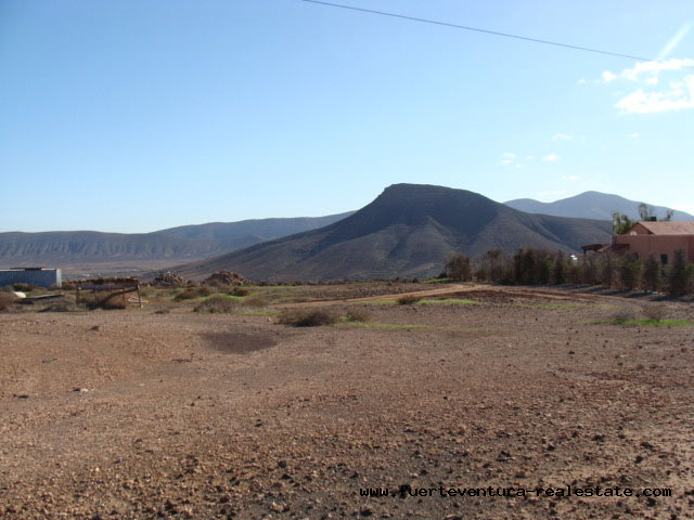For sale! Plot with panoramic views in La Asomada, Fuerteventura