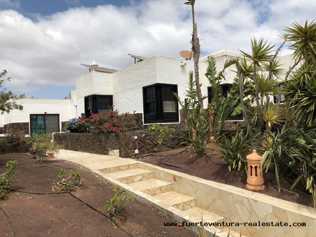 For sale! A unique villa with sea views in a unique location in the south of Fuerteventura