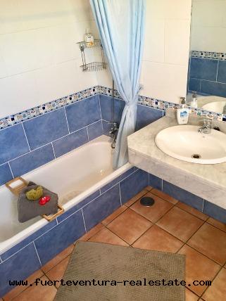 Im Verkauf! Eine charmante  Villa mit Meerblick & beheizbaren Pool in Villaverde auf Fuerteventura