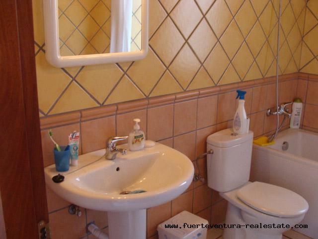 À vendre! Une nouvelle villa avec des vues fantastiques au village de Villaverde, Fuerteventura
