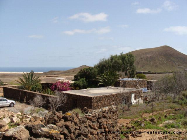 A vendre! Cette villa unique est située au meilleur endroit du nord de Fuerteventura, à Los Risquetes, Fuerteventura