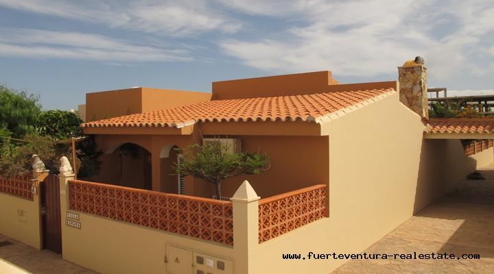 For Sale! Beautiful villa with garden in Corralejo, Fuerteventura