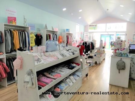 TRANSFER of a commercial premises in operation in Corralejo