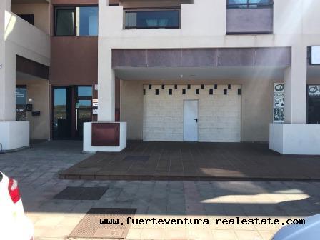 For sale commercial premises at Corralejo, Fuerteventura