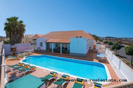 Im Verkauf! Spektakuläre Villa in Corralejo auf Fuerteventura!