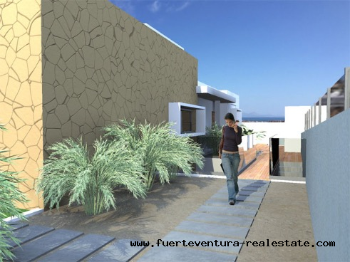 For sale! Urban plots with project at Corralejo, Fuerteventura
