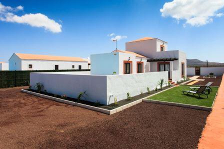 For sale! Wonderful new Villas  at the village of Villaverde at Fuerteventura!