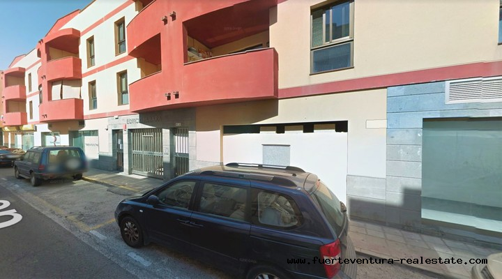 For sale! Spacious parking spaces in Corralejo!