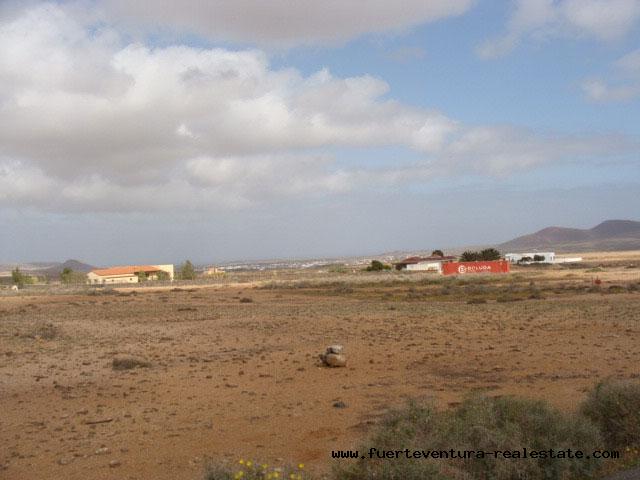 Im Verkauf! Bauland von 2.500 m2 mit einzigartigem Panoramablick im Dorf von Villaverde, Fuerteventura