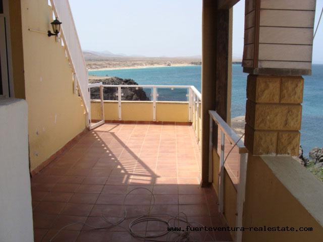 En vente! Appartement confortable sur le port dans le charmant village d'El Cotillo
