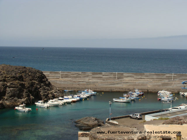 En vente! Appartement confortable sur le port dans le charmant village dEl Cotillo