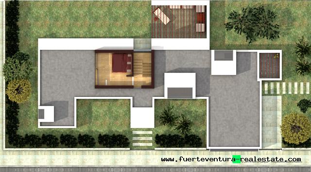 En projet! Villas de luxe avec piscine