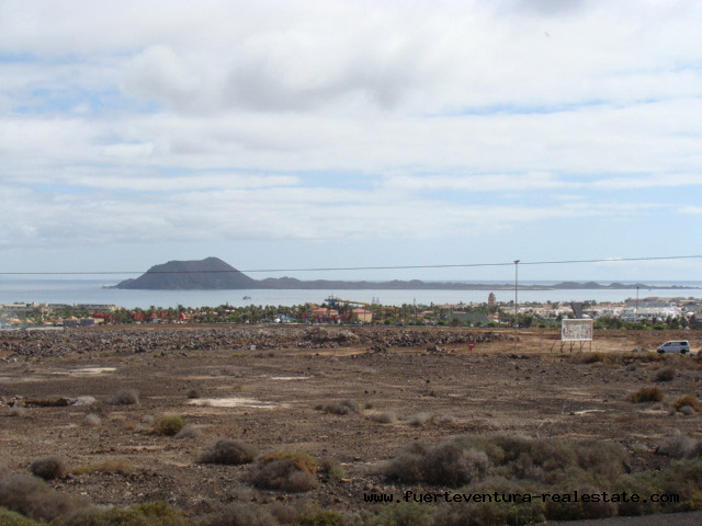 Im Verkauf! Urbanes Bauland mit Meerblick in Corralejo, Fuerteventura