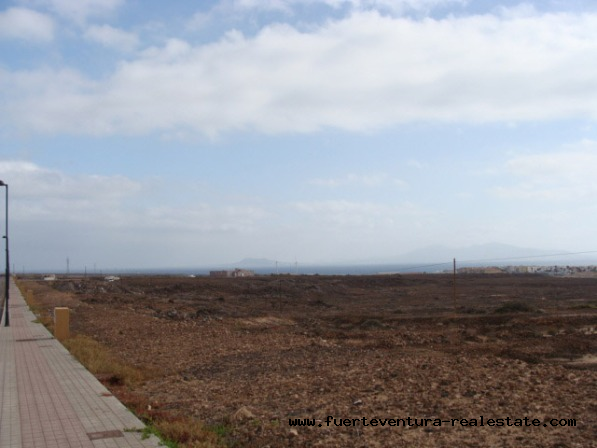 In the sale! Land for use in a residential building in Corralejo, Fuerteventura