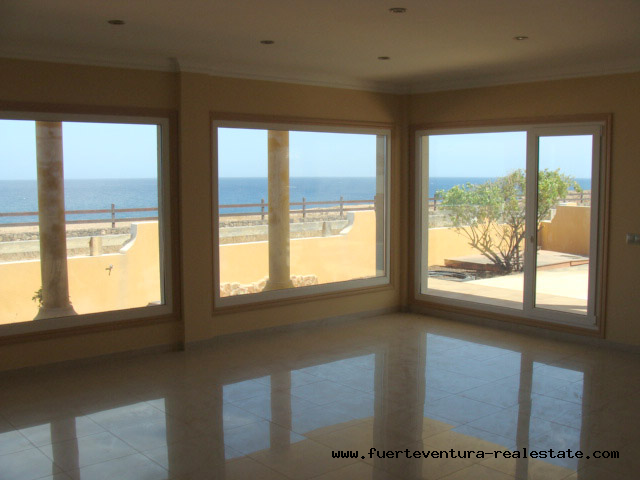Im Verkauf! Traumvilla direkt am Meer von Las Salinas del Carmen, Fuerteventura