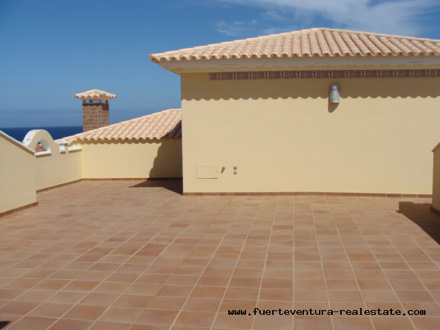 For sale! Luxury dream villa in front of the ocean at Las Salinas del Carmen, Fuerteventura
