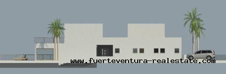 For Sale! Urban plot with project in front of the sea in Las Salinas, Fuerteventura