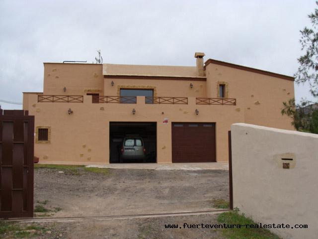 For sale! A fantastic villa in rustique canarian style at Casillas de Angel, Fuerteventura