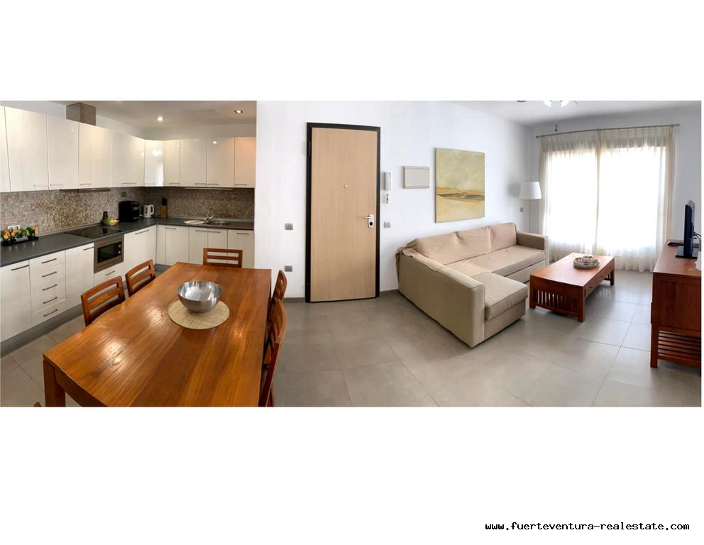 A vendre! Nouveaux appartements dans une bonne cartier à Corralejo!