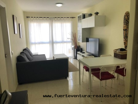 For sale! New apartment in a quiet area in Corralejo!