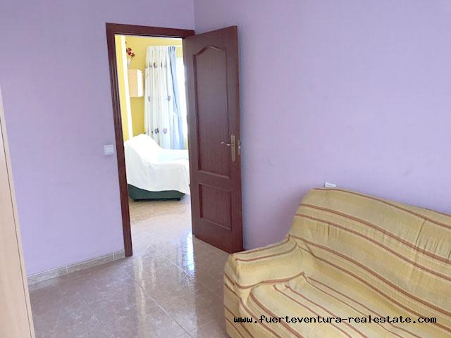 Im Verkauf! Schöne Wohnung in sehr guter Lage von Puerto del Rosario in Fuerteventura