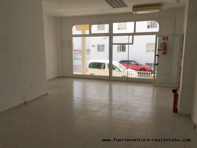 For sale COMERCIAL PROPERTY AT THE COMERCIAL  AREA OF PUERTO DEL ROSARIO in Fuerteventura